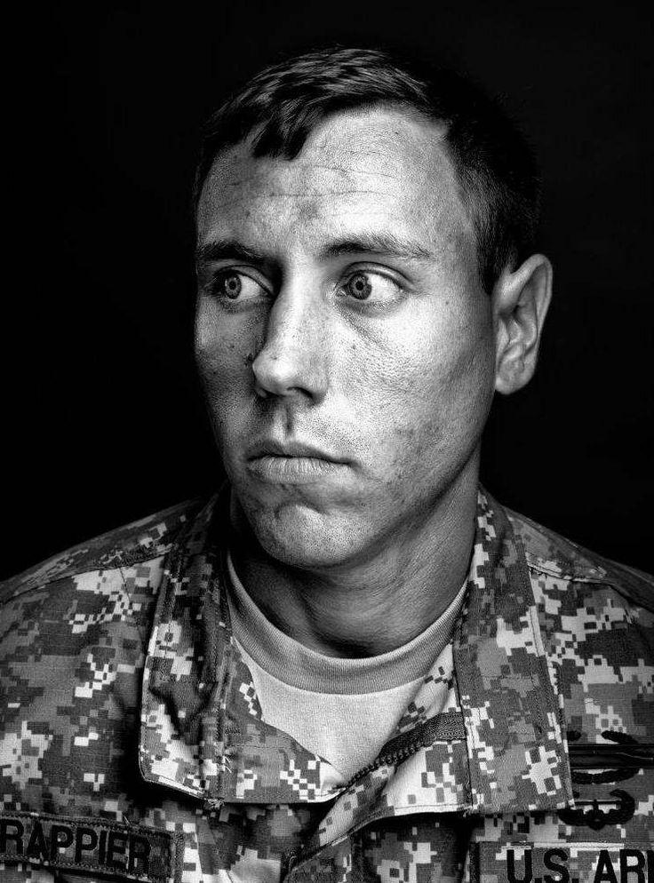 Portrait: Joshua Frappier, U.S. Soldier | by Marco Grob ...
