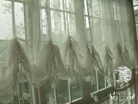 40 best Curtains images on Pinterest Window treatments, Curtains - balloon curtains for living room