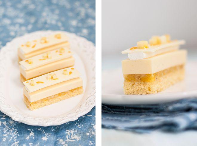 Чудесные пирожные от японского шефа Toshi Yoroizuka. На 100% аутентичность не претендую, потому что у него на сайте дан только список ингредиентов. Что с ними делать я…