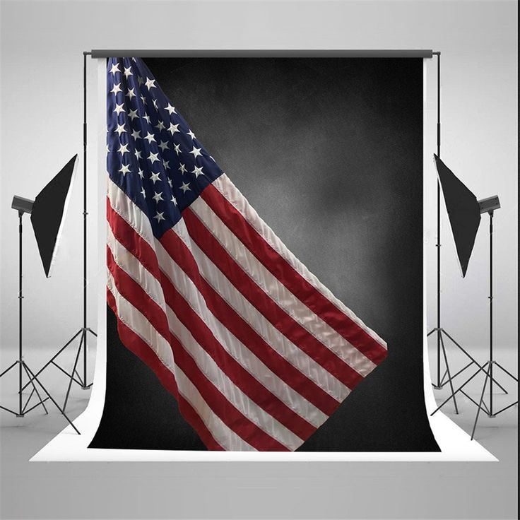Amazon.com : SUSU Black Photography Backdrops 5x7ft American Flag Background for July 4th Independence Day Photo Studio : Electronics