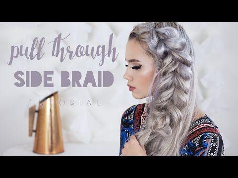 Pull Through Side Braid tutorial   Kokay   A DIY Style and Beauty Blog