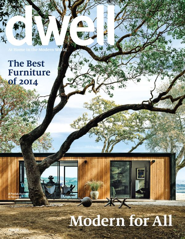 Connect homes on cover of june 39 s dwell magazine modern for Dwell prefab homes cost