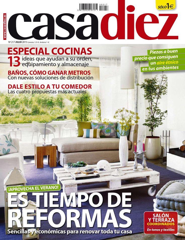 59 best revistas decoraci n images on pinterest journals for Casa diez decoracion