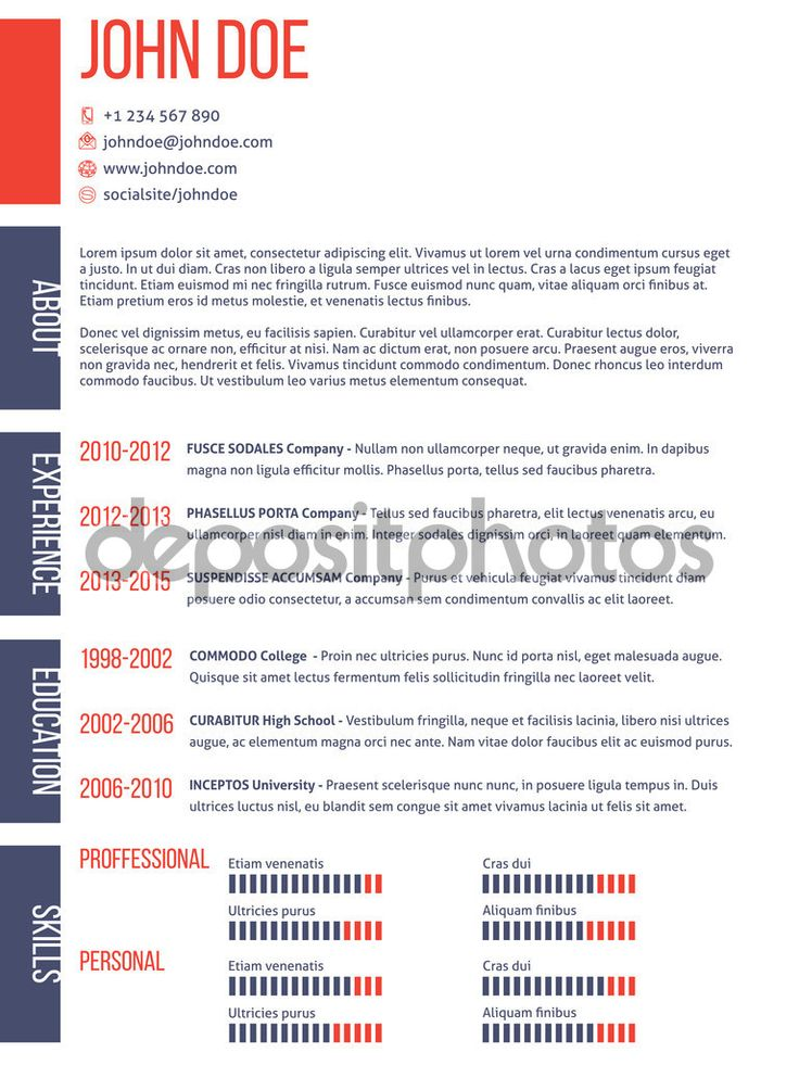 127 best Resume images on Pinterest | Resume, Curriculum and Free ...