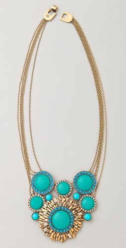 Gorgeous Statement Pendant Necklace from Rachel Leigh Jewelry.