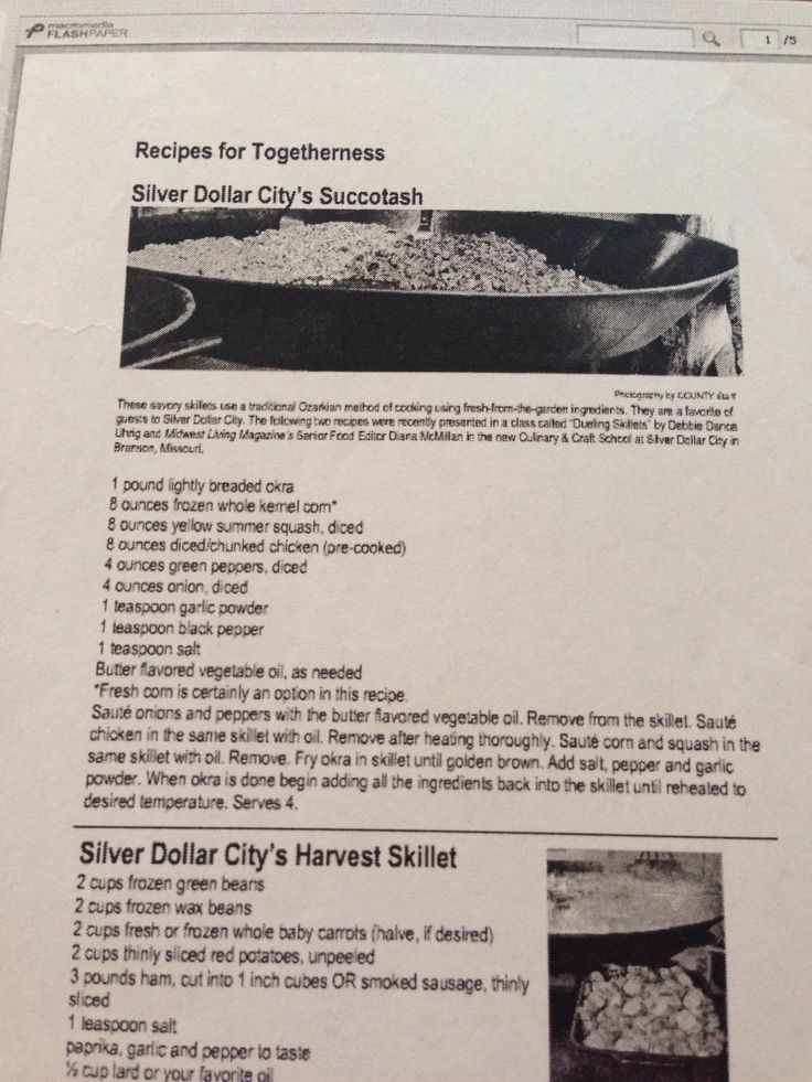 Silver Dollar city succotash I am glad I found this cause I will make it for sure