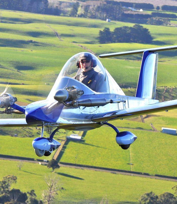 Sealander Amphibious Camping Trailer: Cri-Cri: World Smallest Aerobatic