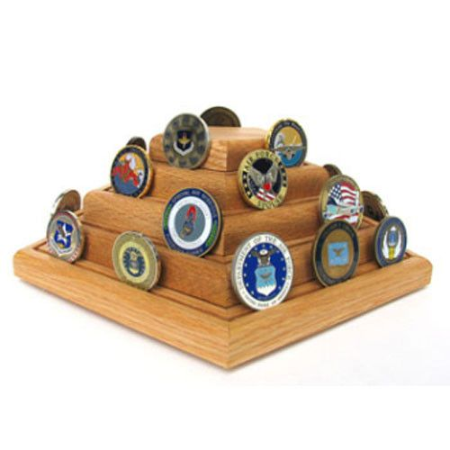 Military Challenge Coin Display,Military Coin holder Hand Made By Veterans