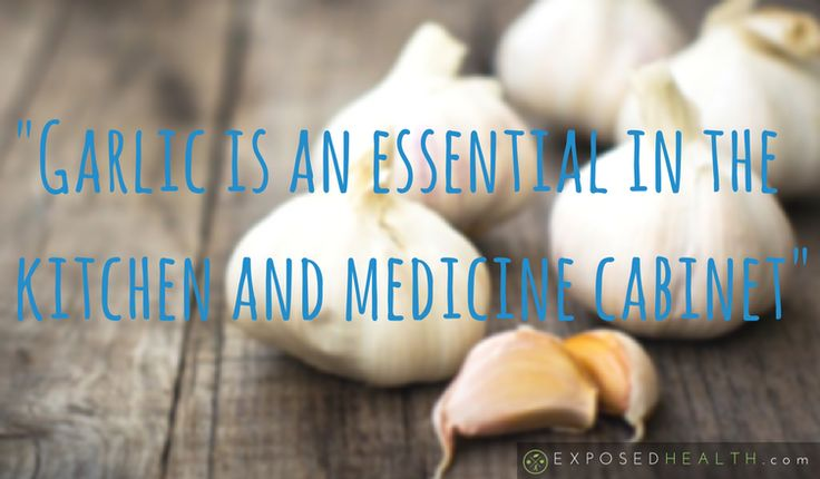 Garlic is an essential in the kitchen and medicine cabinet
