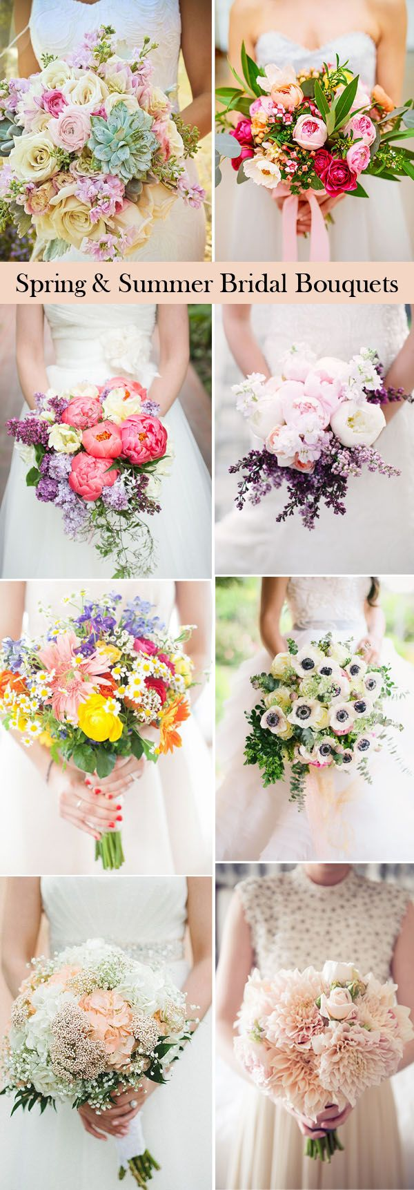 25 swoon worthy wedding bouquets ideas for spring & summer brides