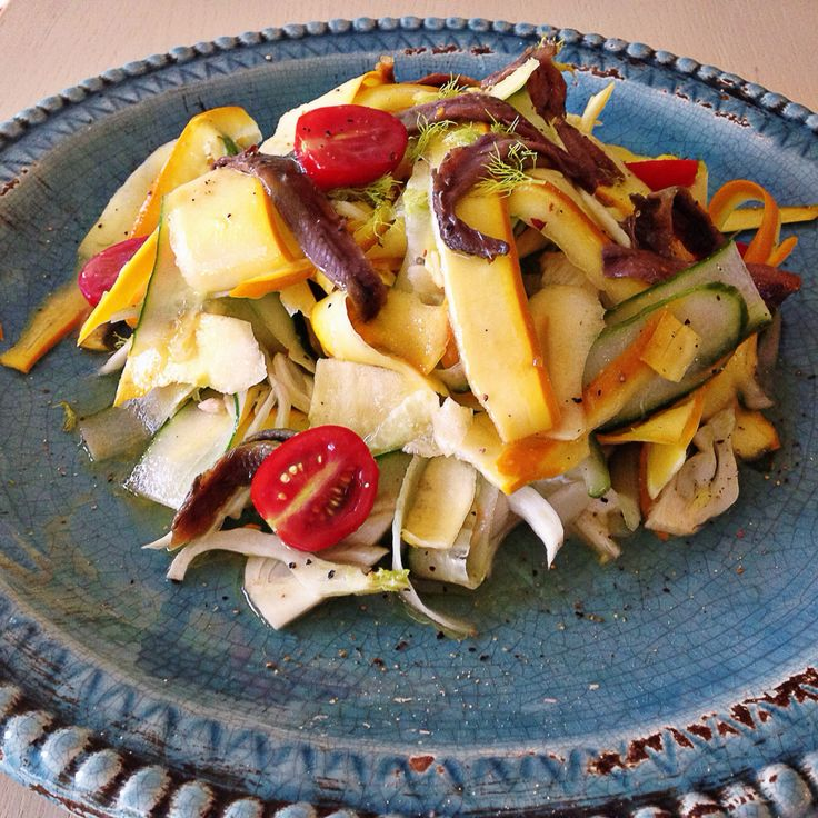 Sunny salad -recipe on my blog