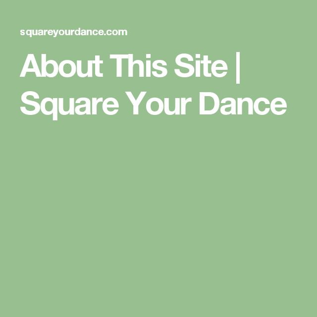 This website collects and categorizes information about square dancing. The collection is curated by Shaney Crawford, a Canadian woman who is learning how to be square dance caller in Japan.