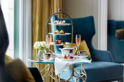 Look inside the redesigned Langham Sydney hotel: Afternoon tea The Langham's afternoon tea service features hand-made delicacies from the kitchen of pastry chef Miguel Jocson. 'Langham Rose' by Wedgwood is its signature tea setting.