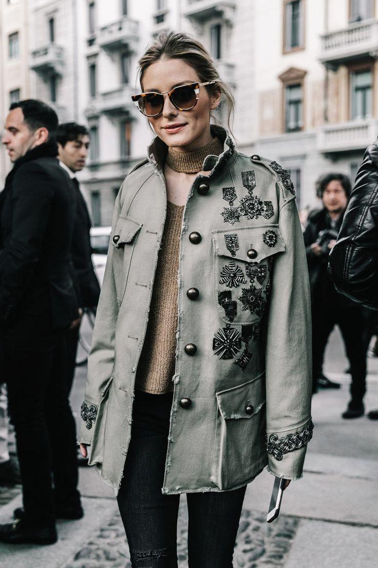 #OliviaPalermo #mfw #streetstyle #moda