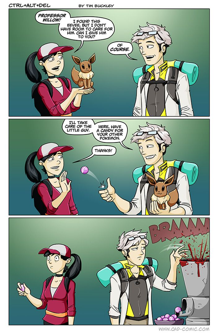 Pokemon GO Candy Comic http://geekxgirls.com/article.php?ID=7352
