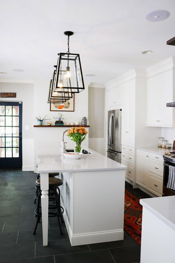 Historic fells point row house ikea kitchen remodel white kitchen