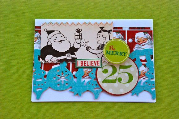 Our holiday borders are perfect for quick & easy cards! www.fiskars.com