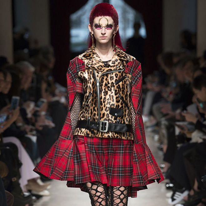 #SuzyPFW: Junya Watanabe  Still In Awe Of Punk