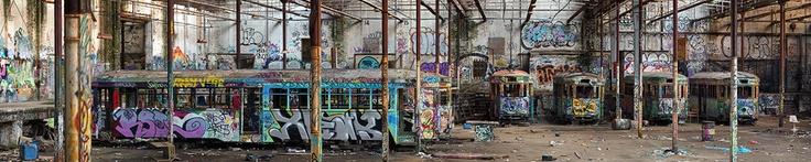 Glebe tram sheds