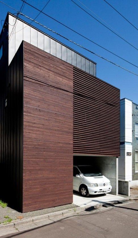 Louver House, Sapporo, Japan / Code Architectural Design