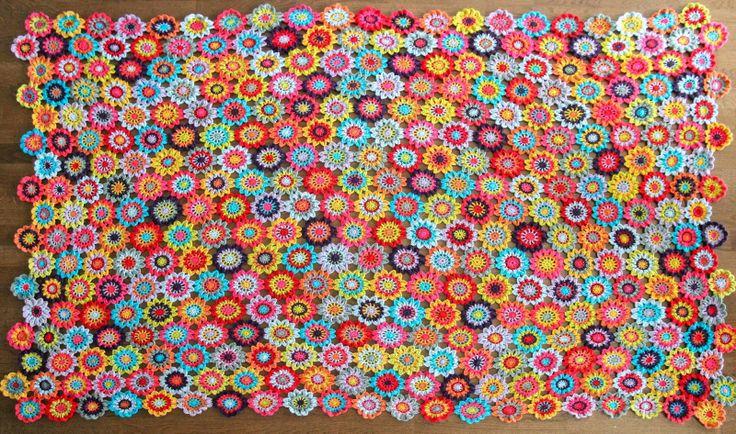 According to Matt...: Japanese Flower Blanket