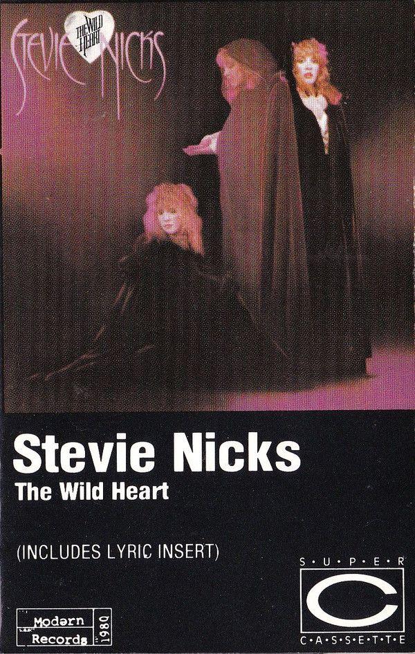 Stevie Nicks The Wild Heart Cass Album Re For Sale Discogs In 2020 Stevie Nicks Stevie Wild Hearts
