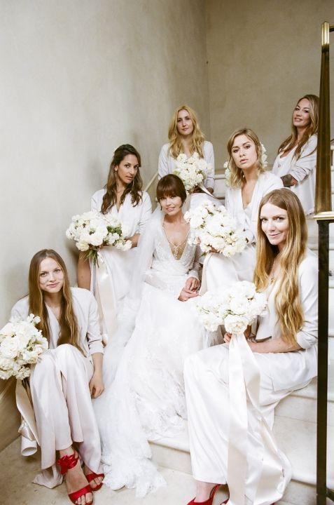 The LANE Real Weddings / A Chic Malibu Wedding