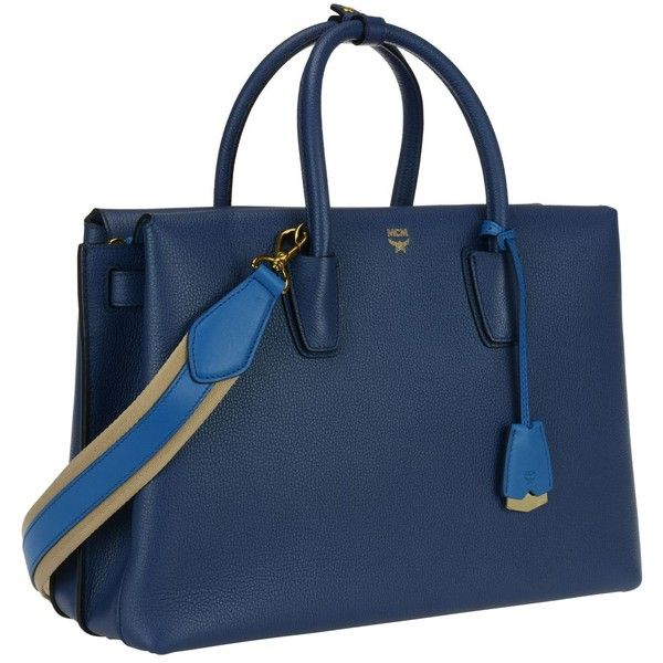 MCM Bags ($900) ❤ liked on Polyvore featuring bags, handbags, blue, mcm, mcm purse, mcm handbags, blue bag and mcm bags