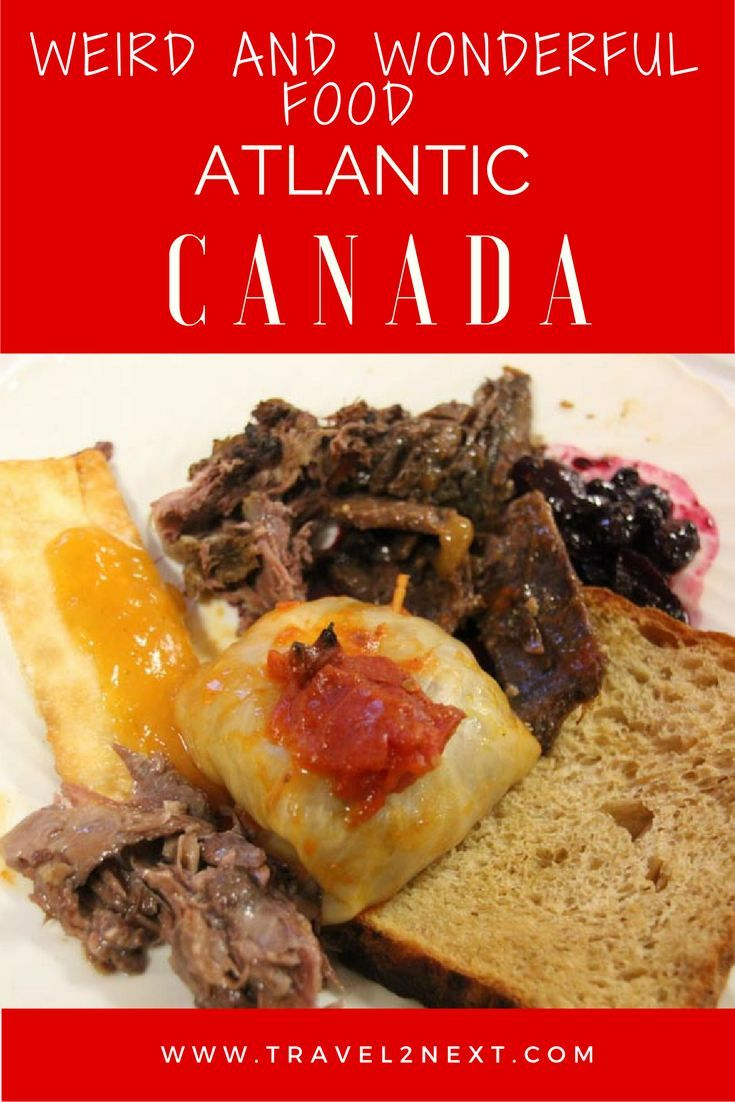 Food of Atlantic Canada. What to eat and how to eat the local chow.