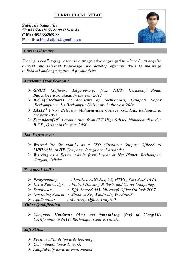 Best Resume Job Resume Examples Job Resume Format Best Resume Format