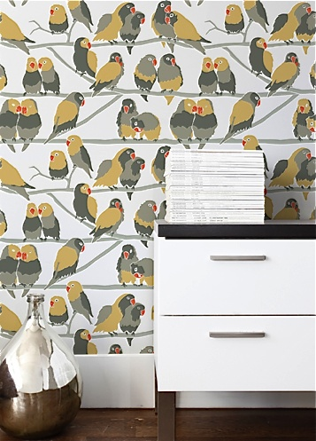 Bird Wallpaper by Aimee Wilder