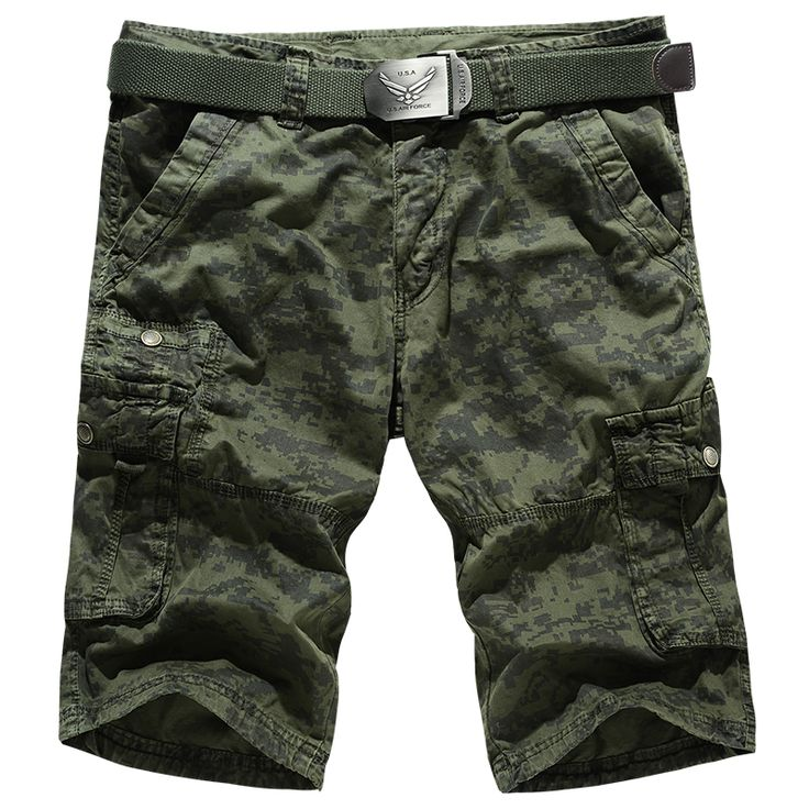 2016 Summer New Casual Camouflage Korte Broek Man Cotton Comfortable Mens Bermuda Shorts
