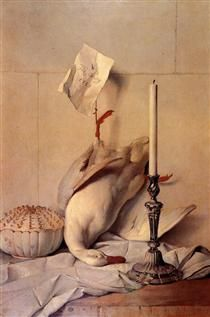 The White Duck - Jean-Baptiste Oudry