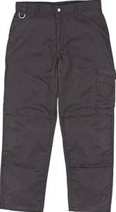 Scruffs Worker Trousers Black 32`` W 31`` L 94721 Black. Lightweight, tear and stain-resistant work trousers with bottom-loading knee pad pockets. 245g/m². Knee pads available separately (Code 32969). http://www.comparestoreprices.co.uk/january-2017-9/scruffs-worker-trousers-black-32-w-31-l-94721.asp