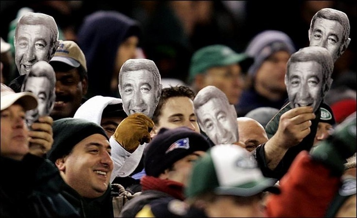 """Every person working in sports journalism today owes a tremendous debt to Howard Cosell. His greatest contribution was elevating sports reporting out of daily play-by-play and placing it in the larger context of society.""  -- Roone Arledge, former President of ABC Sports    This photo was taken during a Patriots vs. Jets game in 2005."