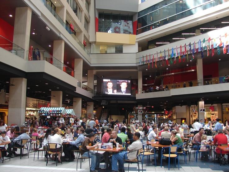 Peachtree Mall Food Court Atlanta
