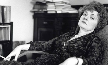 Pretty much anything by the Dame. Dear Muriel Spark, if I hadn't seen you laugh gleefully as you made a skeleton head talk in that BBC documentary, would I enjoy your work so thoroughly?