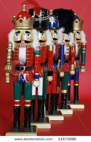Nutcrackers...I think Im going to start giving one to my girls every xmas. they will thank me one day.