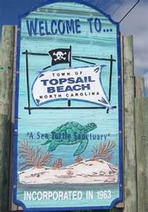 Topsail Beach, NC.  A Sea Turtle Sanctuary!