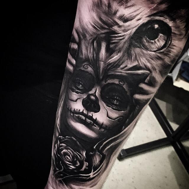 Tattoo by Kris Sunkee