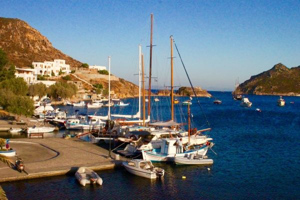 View of Grikos small port