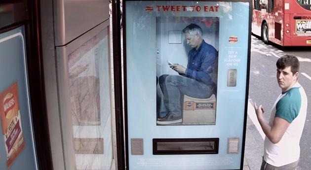 """""""Tweet To Eat"""" – Ehemaliger Fussballer verteilt Snacks im Automat"""