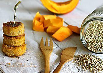 Polpette di zucca e grano saraceno