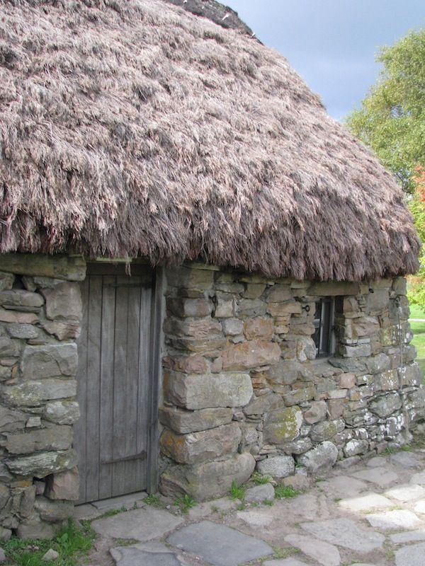 Old farmhouse on the site of the Battle of Culloden. Highland,Scotland Copyright: William Durham