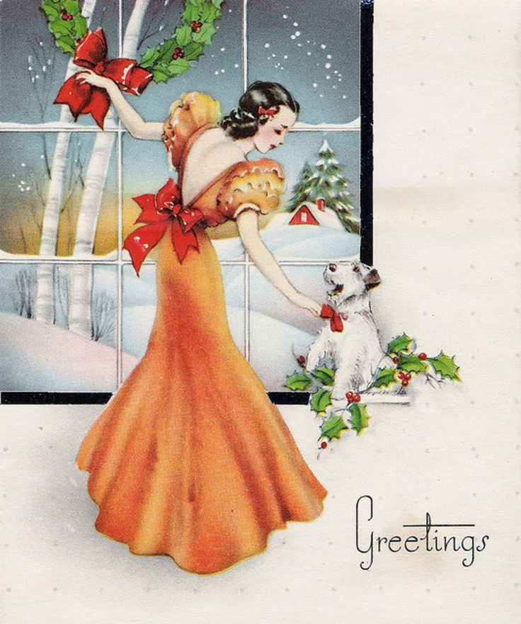 81201677 large 4106960448 27079ecc4c vintage christmas cards pinterest beautiful. Black Bedroom Furniture Sets. Home Design Ideas