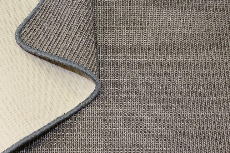 Sisal tappeto kilim rotore in fibra naturale Kettelteppich grigio argento, disponibile in diverse taglie: Amazon.it: Fai da te