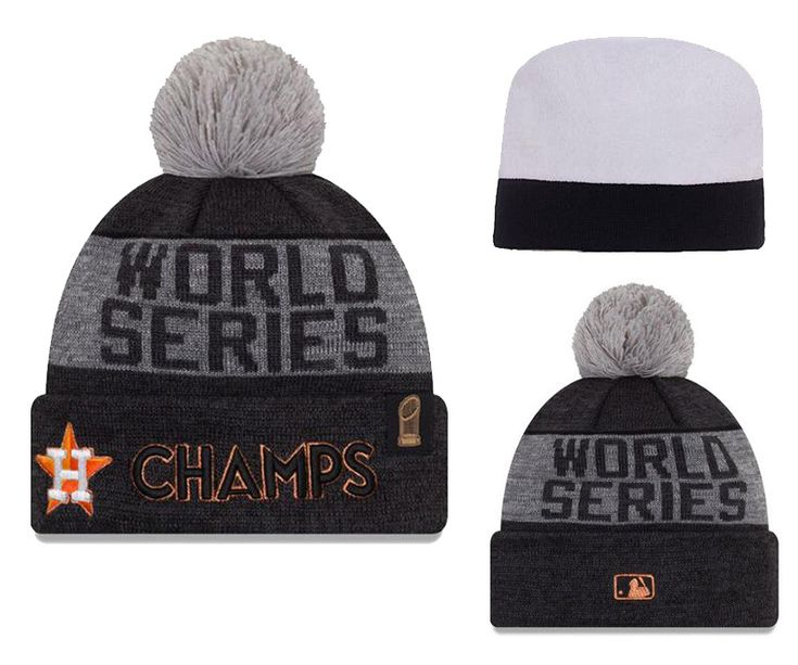 2017 MLB World Series Champion Beanies