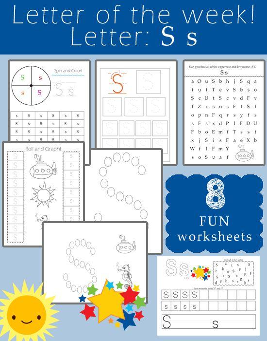 Best S Letter Activities Images On   Script