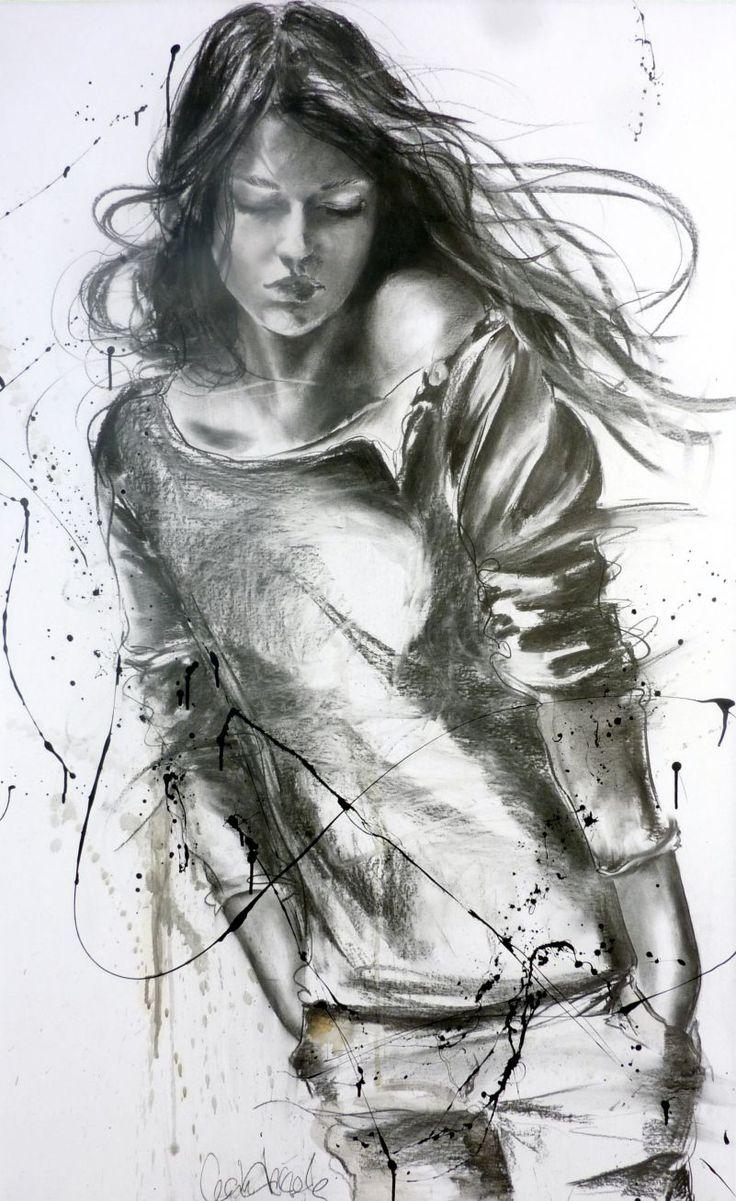 Fascinante la obra de Cecile Desserle, la artista a la que pertenecen los cuadros que salen en la gran pelicula La vida de Adele