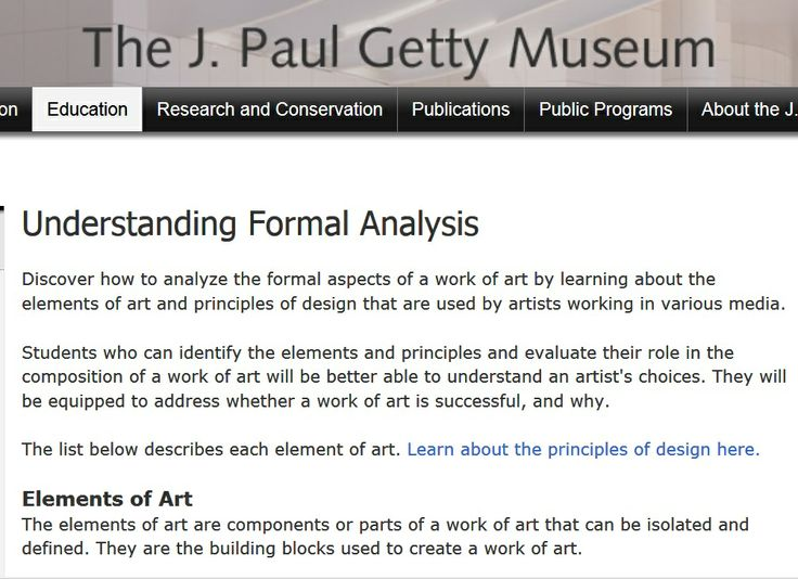 What Are The Formal Elements Of Art : Best formal elements of art images on pinterest